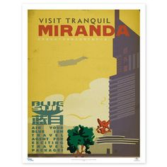 Firefly / Serenity travel destination posters