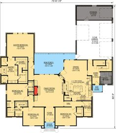 Plan W56304SM: Photo Gallery, European, French Country, Corner Lot House Plans & Home Designs