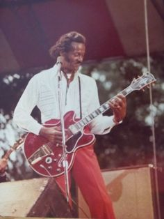 """All of Chuck's children are out there/Playing his licks."" (Bob Seger's ""Rock and Roll Never Forgets"")  Chuck Berry is known as the ""Father of Rock and Roll.""  And he has a large family.  I wonder how many people have been inspired to play the guitar after hearing ""Johnny B. Goode!"""