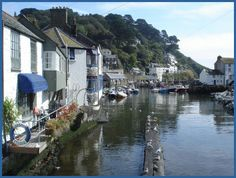 a picture postcard (fishing) village, Polperro lies 3 miles SW of Looe in Cornwall. Cars are banned from the village.