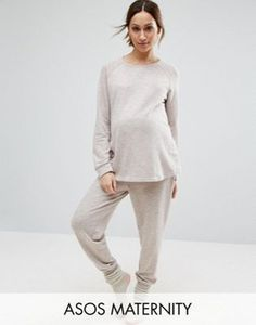 Jolie maternité soins infirmiers pyjama court pyjama allaitement nightwear mamalicious