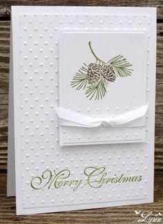 homemade christmas cards | Visit creativecraftsbylynn.blogspot.com