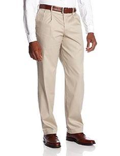 Dockers Men's Game Day Khaki Classic Fit Pant - Louisiana State, Safari Beige, x Built with performance, worn with style Cuffed Pants, Khaki Pants, Mens Dress Pants, Men's Pants, Pleated Pants, Workout Pants, Slacks, Safari, Casual Outfits