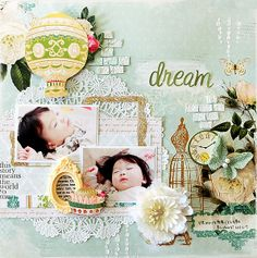 dream - My Creative Scrapbook Limited Edition Kit Nov 2013