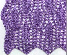 Plumage Lace Stitch