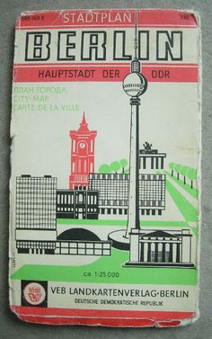 Berlin DDR - city map - late 70s by LimitedExpress, via Flickr