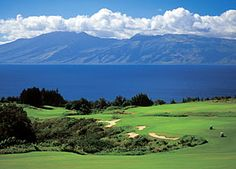 Plantation Golf Course, Kapalua, Maui.  One of the most beautiful courses I have ever played.  The whales in the ocean were a huge distraction!