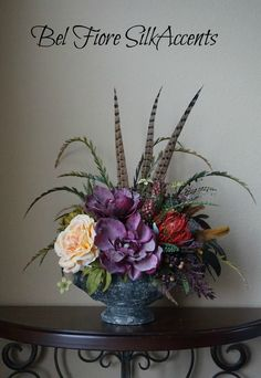 80 best silk flower arrangements images on pinterest silk flowers tuscan old world style concrete urn centerpiece silk floral arrangement mightylinksfo