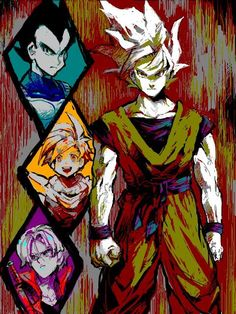 Awesome art style DBZ
