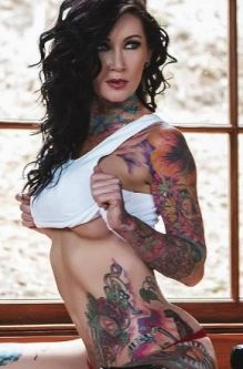 Nude female strippers tatoos photo 594