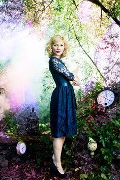 Shabby Apple - I'm Late! I'm Late! Dress Royal Purple, $102.00 (http://www.shabbyapple.com/shop/im-late-im-late-dress-royal-purple/)