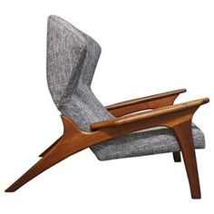 Adrian Pearsall Lounge Chair | From a unique collection of antique and modern lounge chairs at https://www.1stdibs.com/furniture/seating/lounge-chairs/
