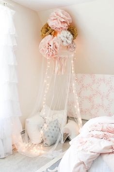 Girl's Bedroom Details & Sources - Rooms For Rent blog