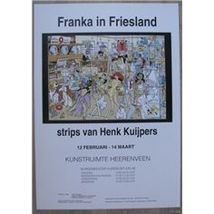Henk Kuijpers # FRANKA IN FRIESLAND # 1991, mint
