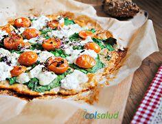 La pizza es toda una tentación, pero no ayuda mucho bajar de peso. Prueba esta opción de pizza sin harina, fácil de preparar e igual de deliciosa.