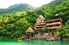Lake Atlitan, Guatemala. The 7 Best Honeymoon Destinations You've Never Heard Of via @domainehome