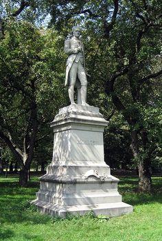 NYC - Central Park: Alexander Hamilton statue