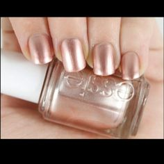 "My new favorite nail polish  ""Penny Talk"" by Essie"