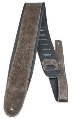 Perri's Leathers AP01-2149 Padded Leather guitar strap new NAMM show sample #331