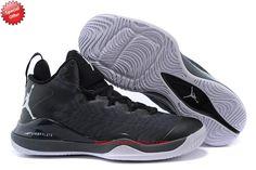 best website 22436 3cc9c Discount Shoes Online Black 717100-003 Jordan Super Fly 3 Mens VNT5KD  Jordans For Men