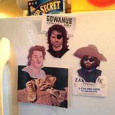 3 Kurt Russell Fridge Magnets by CastleMcQuade on Etsy