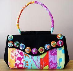 fabric yo yo bag - Google Search