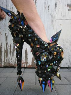 pinterest.com/fra411 #shoes - Artsy :)  shoes