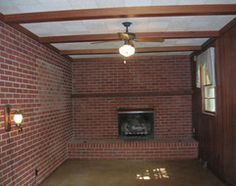 Would you paint this fireplace white? - Houzz