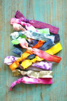 Dye tie hair ties!