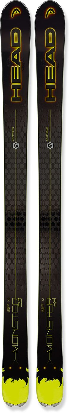 Head Male Monster 98 Skis - Men's /2016