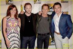 Jessica Stroup, Kevin Bacon, Marcos Siega, Shawn Ashmore Brings Alternate Ending of 'The Following' Season Two to Comic-Con Panel 2014
