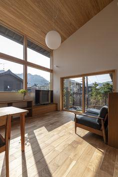 #リビング #吹抜け #借景 Windows, Ramen, Window