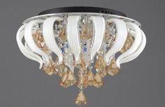 Klasik ve modern avize Crystal Light Fixture, Light Fixtures, Chandelier Lamp Shades, Ceiling Lights, Crystals, Modern, Ideas, Home Decor, Trendy Tree