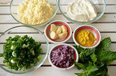 Sos Ranch pentru carne si legume - Retete culinare by Teo's Kitchen Nachos, Ketchup, Palak Paneer, Ranch, Dips, Cabbage, Spices, Tasty, Chicken