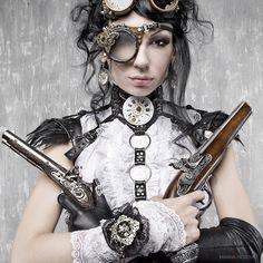 "Steampunk Theme by Marina ""Loki"" Nosova, via 500px"