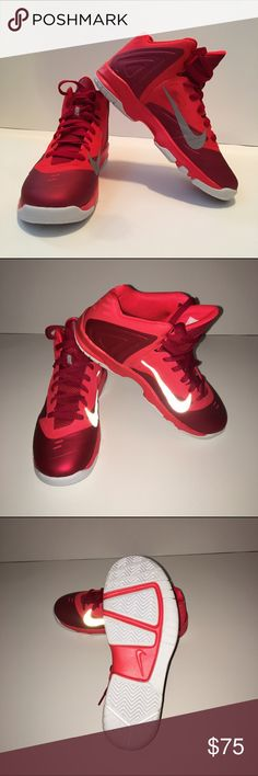 Brand New never worn Basketball Nike Premiere 5.5Y Never worn. Bought and forgot I even had them! Original Price : 100$ Asking : $75 Box included. The Nike check is reflective Nike Shoes Sneakers