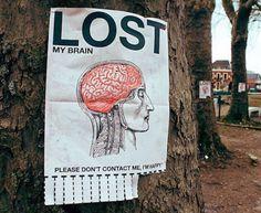 Lost my brain...