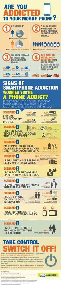 Quelle relation entretien l'utilisateur avec son smartphone, sa tablette? #infographie