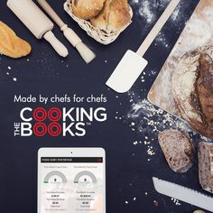 Cooking the Books is a complete kitchen management tool, not just a recipe manager, but everything you need to run a successful and profitable kitchen with consistently great food.  #chef #chefs #ipad #restaurant #hospitality #control #software #digital #streamline #consistency