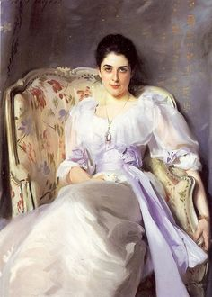 Portrait of Lady Agnew by John Singer Sargent
