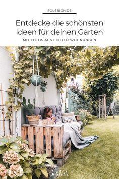 The most beautiful ideas for your garden, your terrace and your balcony – from … – Garten, Balkon & Terrasse – Gestaltungsideen – patio Pergola, Design Jardin, Modern Garden Design, Garden Care, Balcony Garden, Garden Inspiration, Garden Furniture, Outdoor Gardens, Outdoor Living