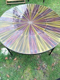 Roger Capron ceramic 1960's coffee table
