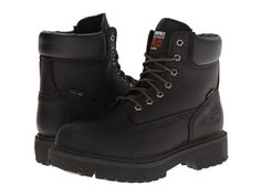 Timberland PRO Direct Attach 6 Soft Toe Men's Work Lace-up Boots After Dark Full-Grain Leather