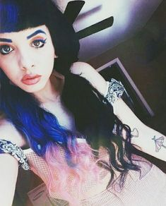 melanie martinez, melanie, and crybaby image Suicide Girls, Pity Party, Cry Baby, Crazy People, Dieselpunk, Adele, Her Hair, Role Models, The Voice