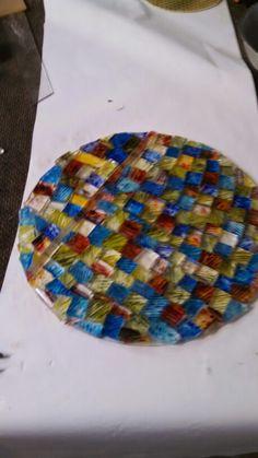 Future fused glass bowl.