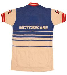 34bb3e67f 70 s vintage MOTOBECANE cycle jersey made in France by SHOPakifuu Cycling  Art