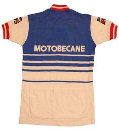 47b333c38 70 s vintage MOTOBECANE cycle jersey made in France by SHOPakifuu Cycling  Art