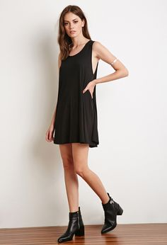 Knit Trapeze Dress | Forever 21 - 2000155107