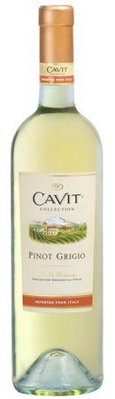 Cavit Pinot Grigio....super cheap...and very delicious. I keep trying others, but always come back to my Cavit.