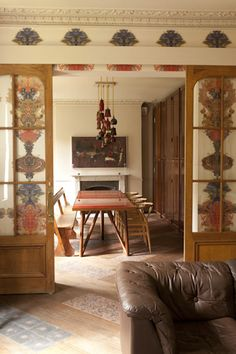 Grand Blotch Damask wallpaper Timorous Beasties available at walnut wallpaper Hampstead House, Timorous Beasties, Entry Wall, Damask Wallpaper, Eclectic Design, Interior And Exterior, Design Projects, Sweet Home, Living Room